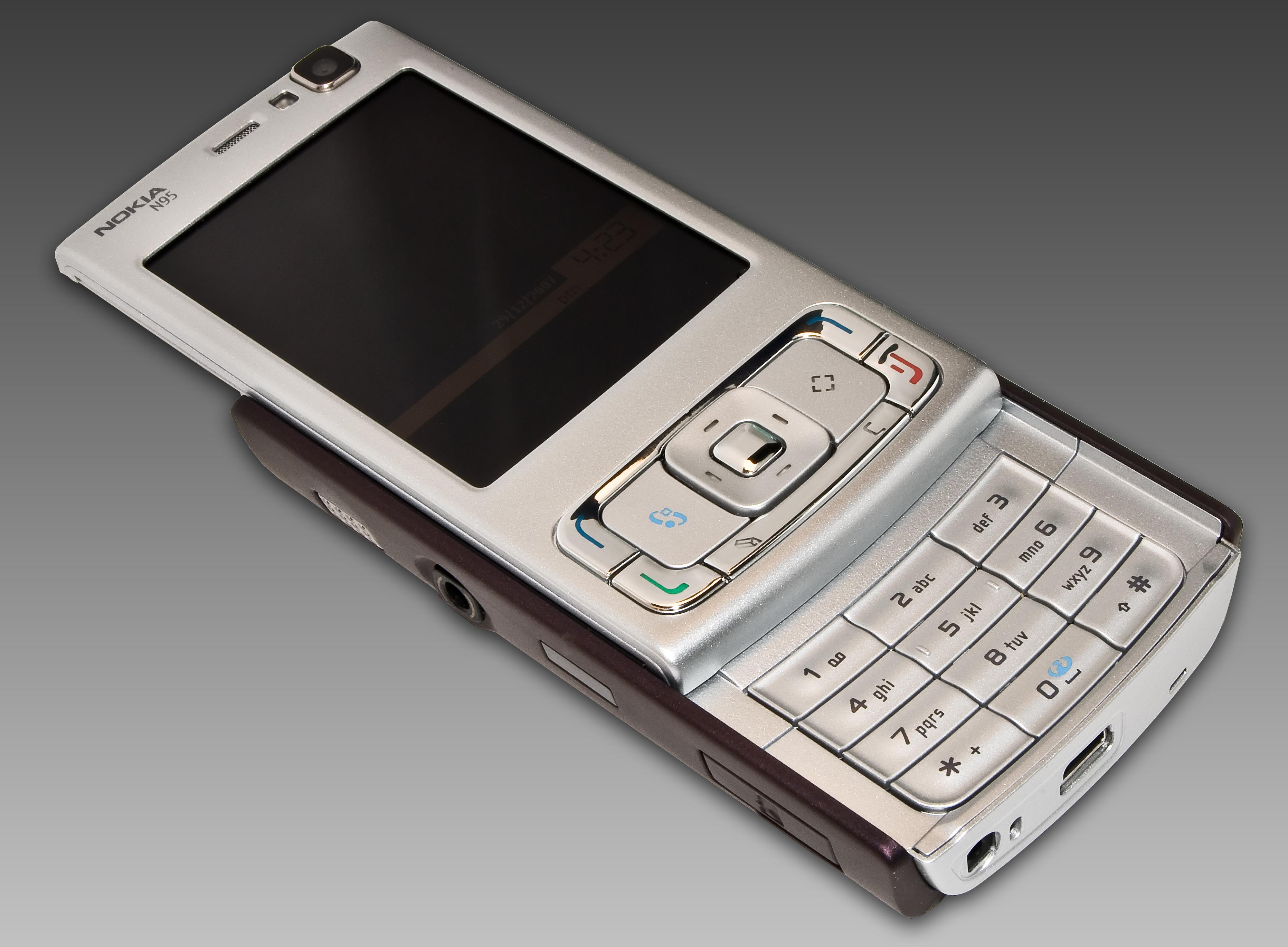 Nokia Side Slide Phones Nokia n95 - wikipedia