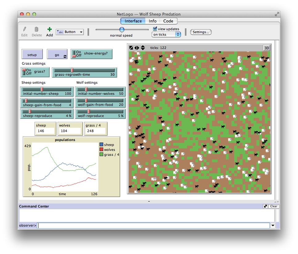 NetLogo full screenshot