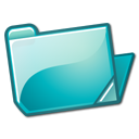 Nuvola filesystems folder cyan open.png