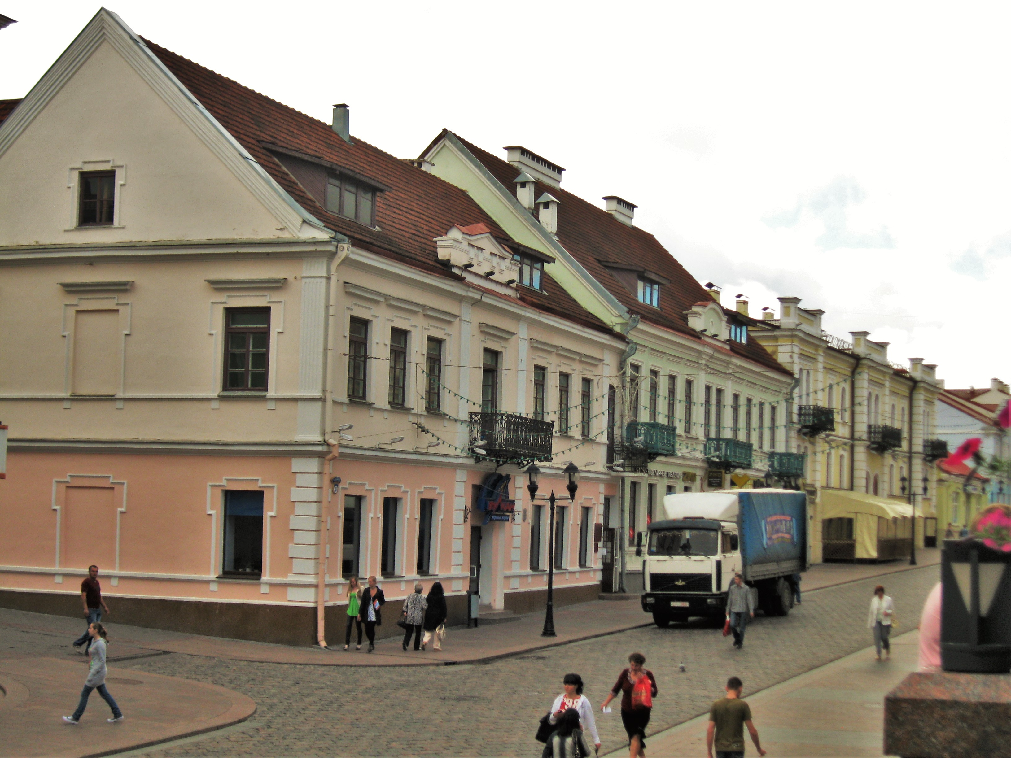 On the pedestrian street in Grodno.jpg