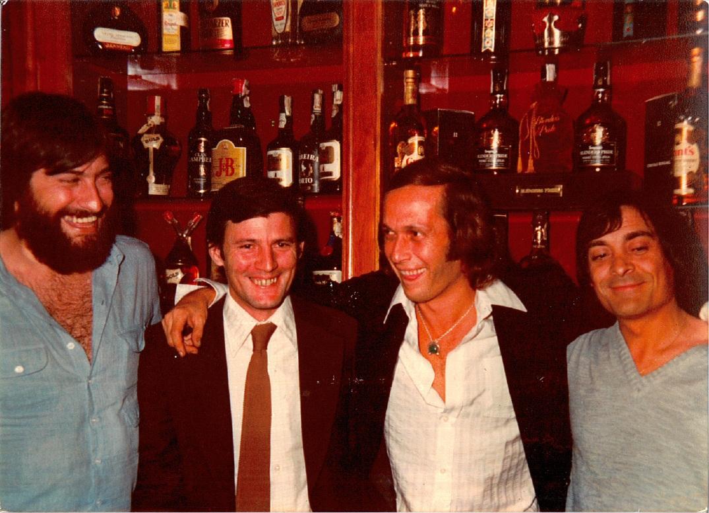 Paco de Lucía en Buenos Aires (Argentina) a finales de 1970.