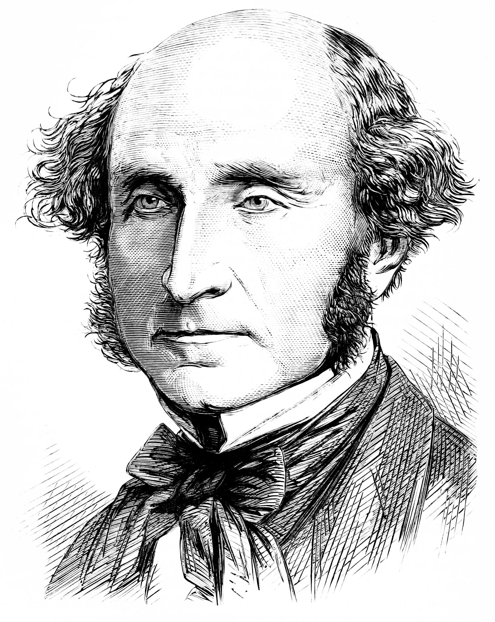 John Stuart Mill, 1872-1873 in Popular Science Monthly Volume 3