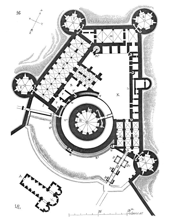 Plan De La Ville De Gisors