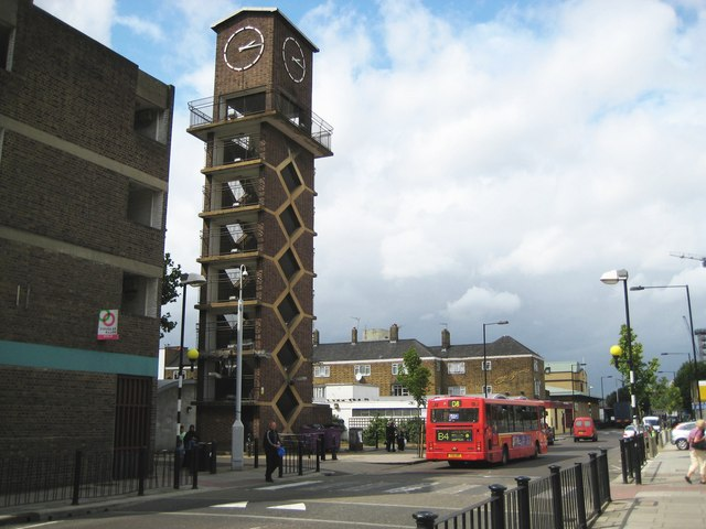 Poplar,_Chrisp_Street_Market_Clock_Tower_-_geograph.org.uk_-_933869.jpg