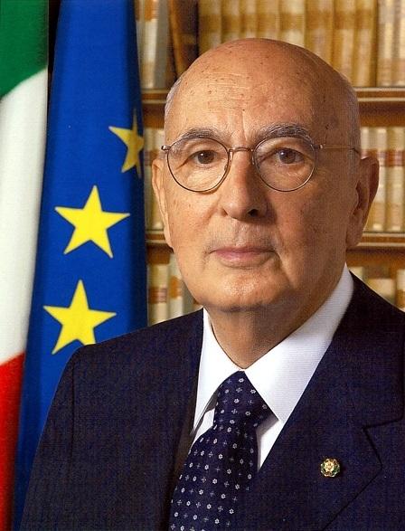 Ritratto ufficiale di Giorgio Napolitano