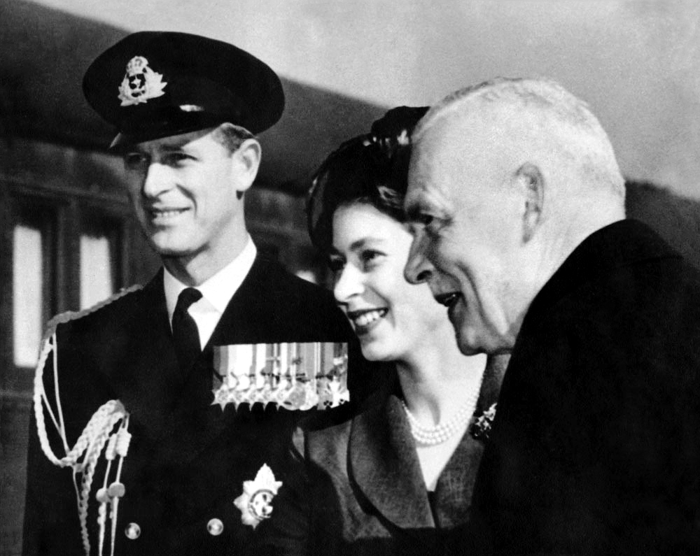 1951 tour of Canada with Prime Minister Louis St. Laurent