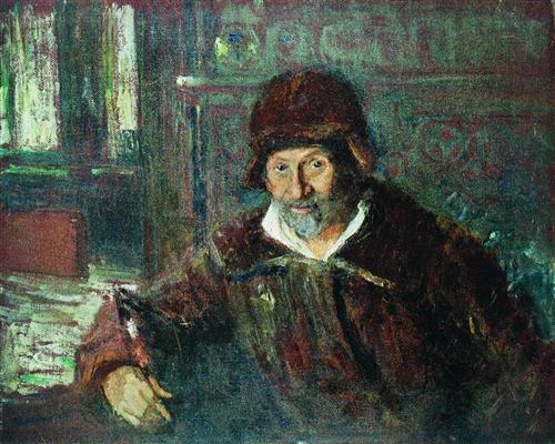Файл:REPIN portret REPIN. 1920.jpg