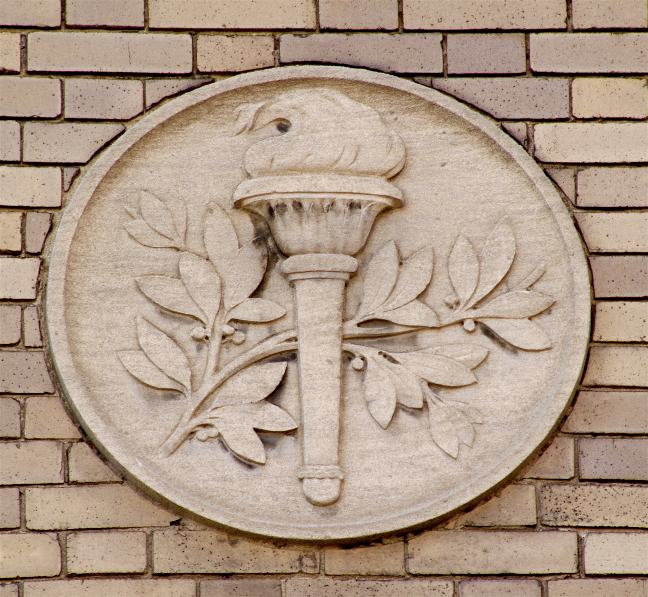 File relief of a torch at the montreal mechanics institute