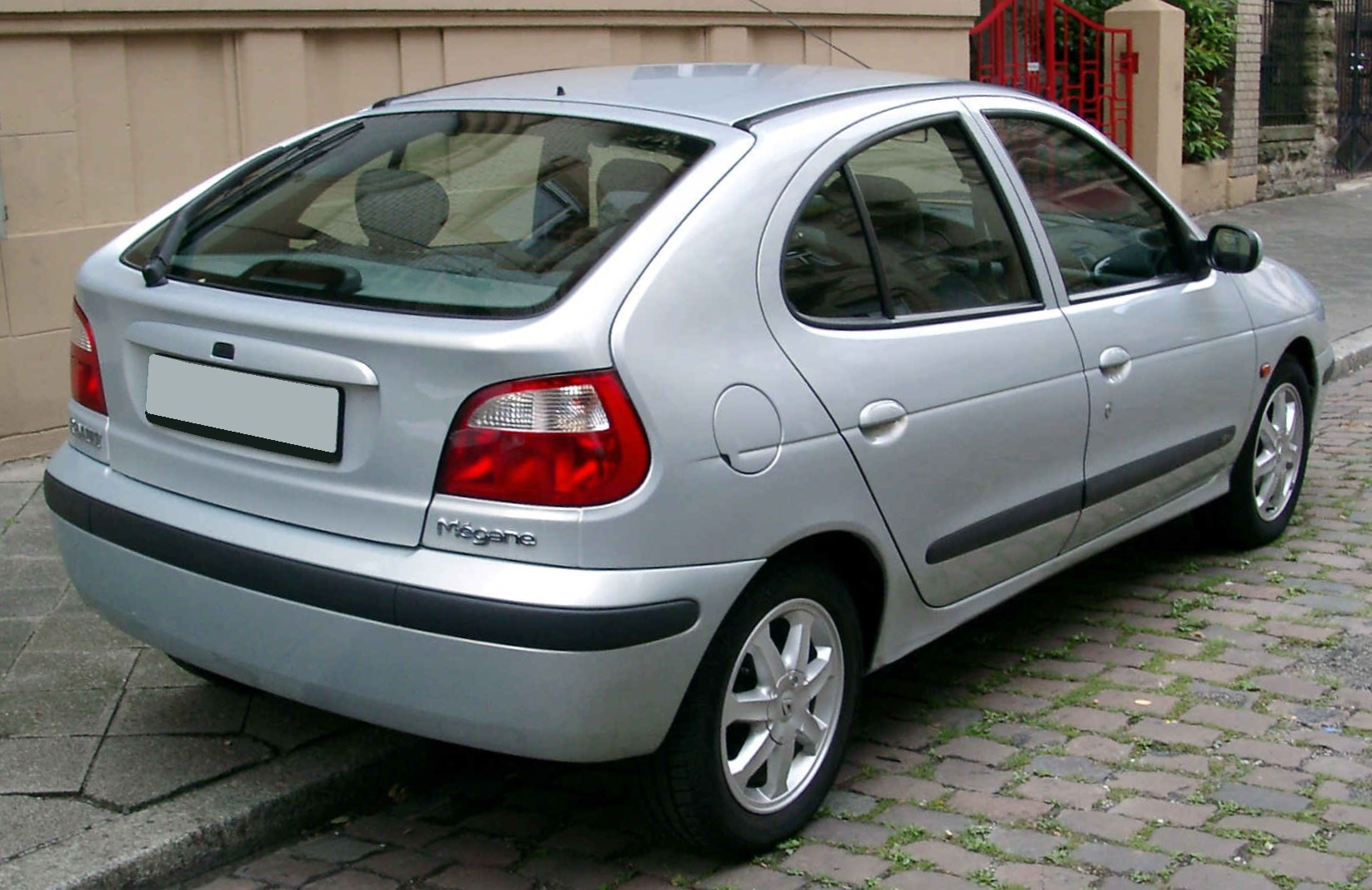 File Renault Megane Rear 20080820 Jpg Wikimedia Commons