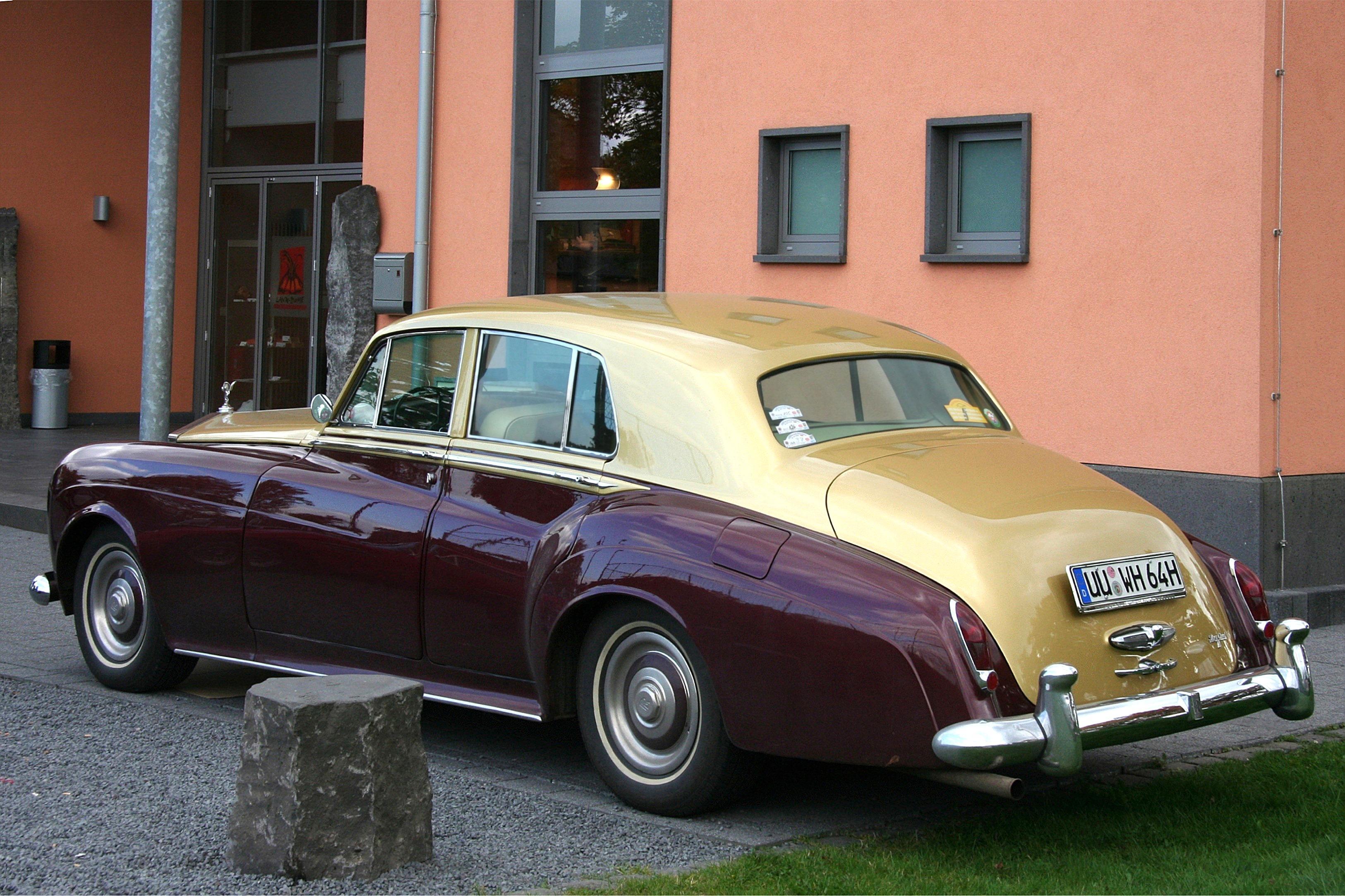 File Rolls Royce Silver Cloud Iii Bj 1964 Heck Ret