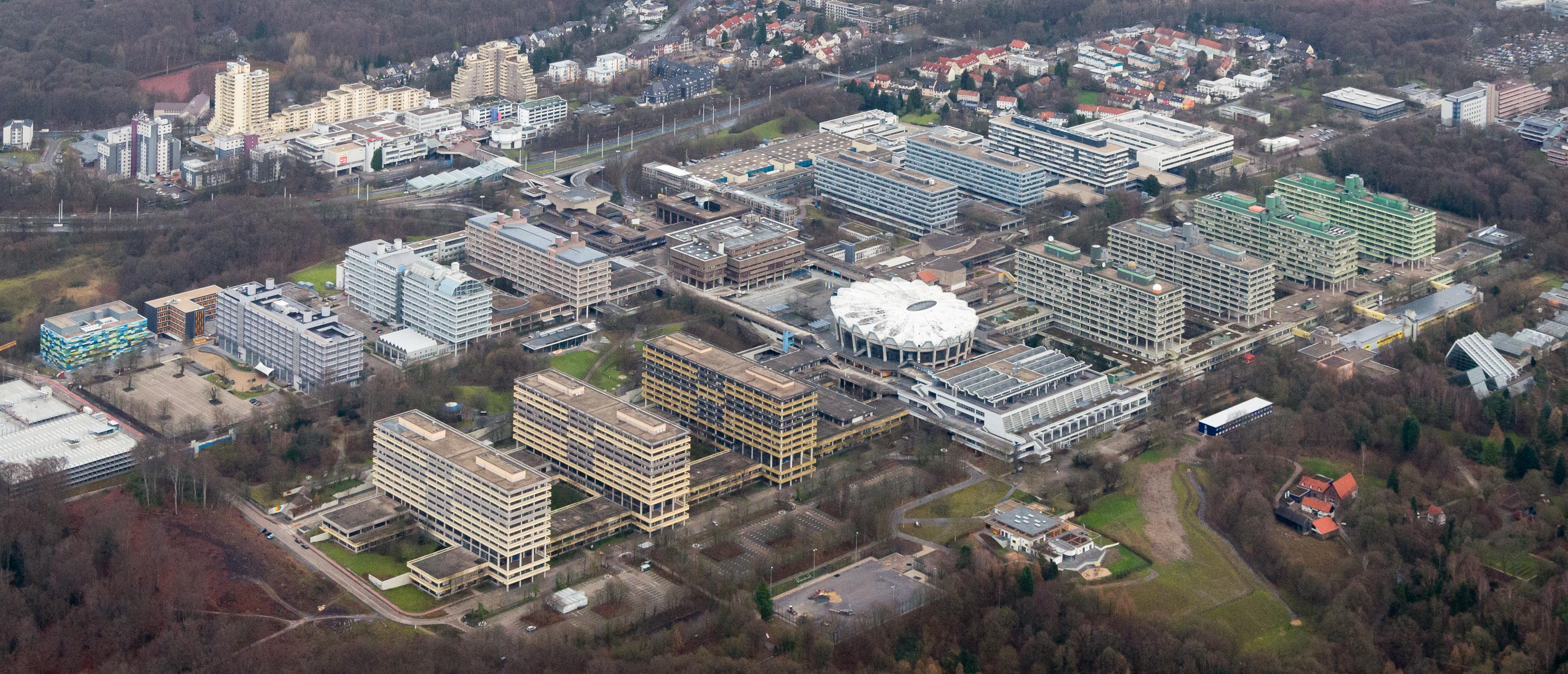 luftbild der universitt - Uni Bochum Bewerbung
