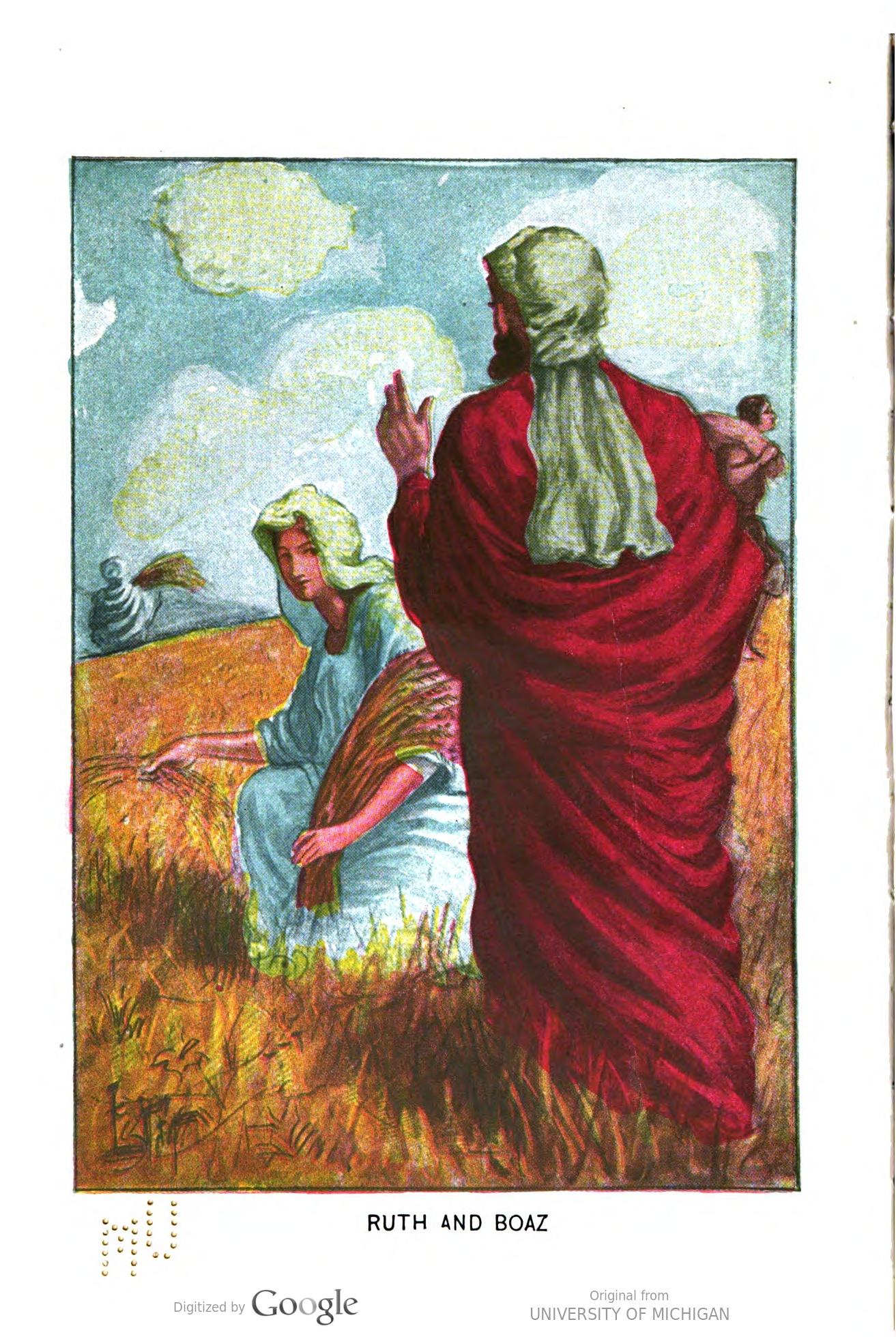 Joseph and the Amazing Technicolor Dreamcoat- de rol van Boaz.