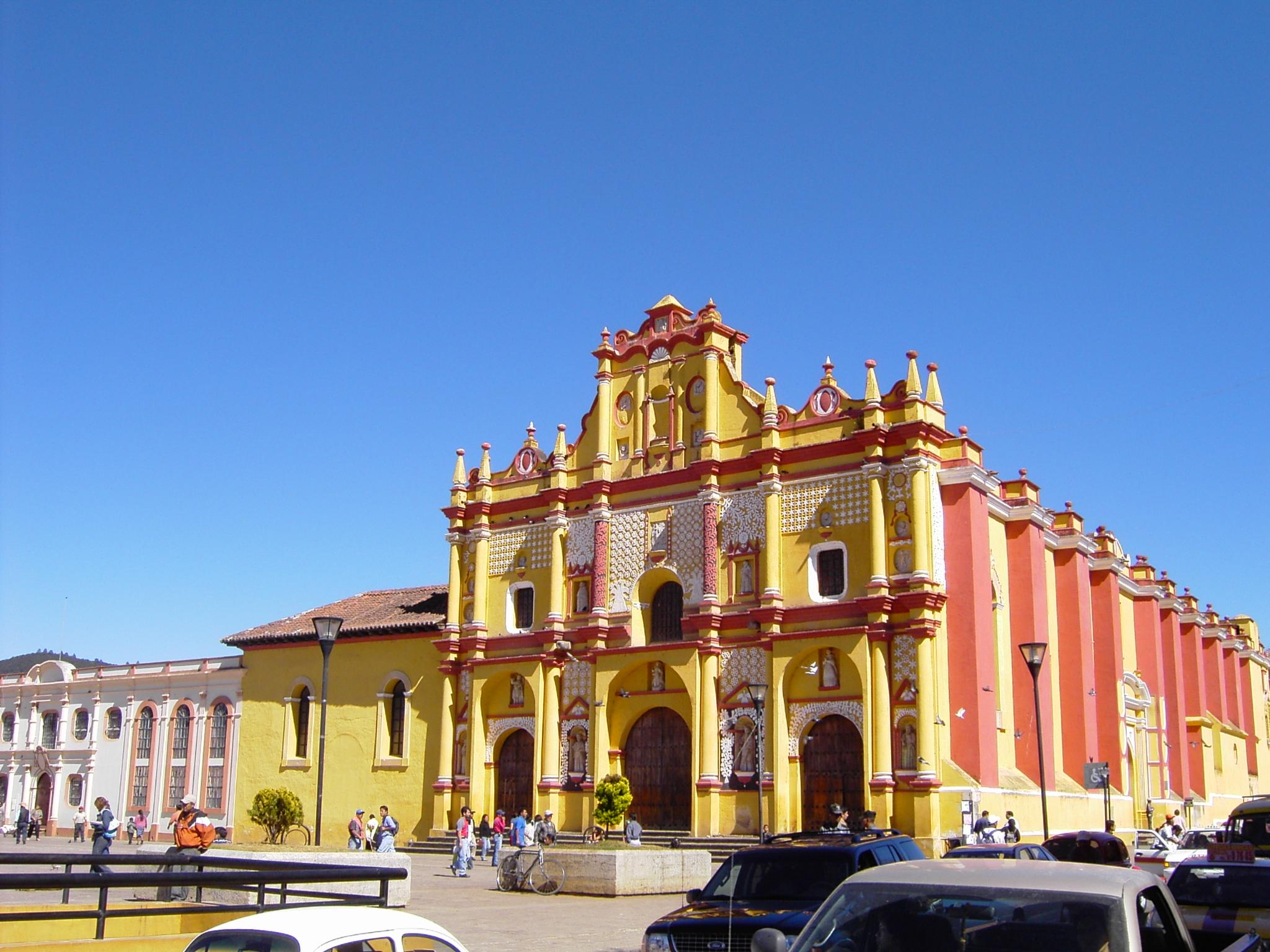 San Cristobal De Las Casa Mexico  City new picture : San Cristóbal de Las Casas 18 Wikimedia Commons