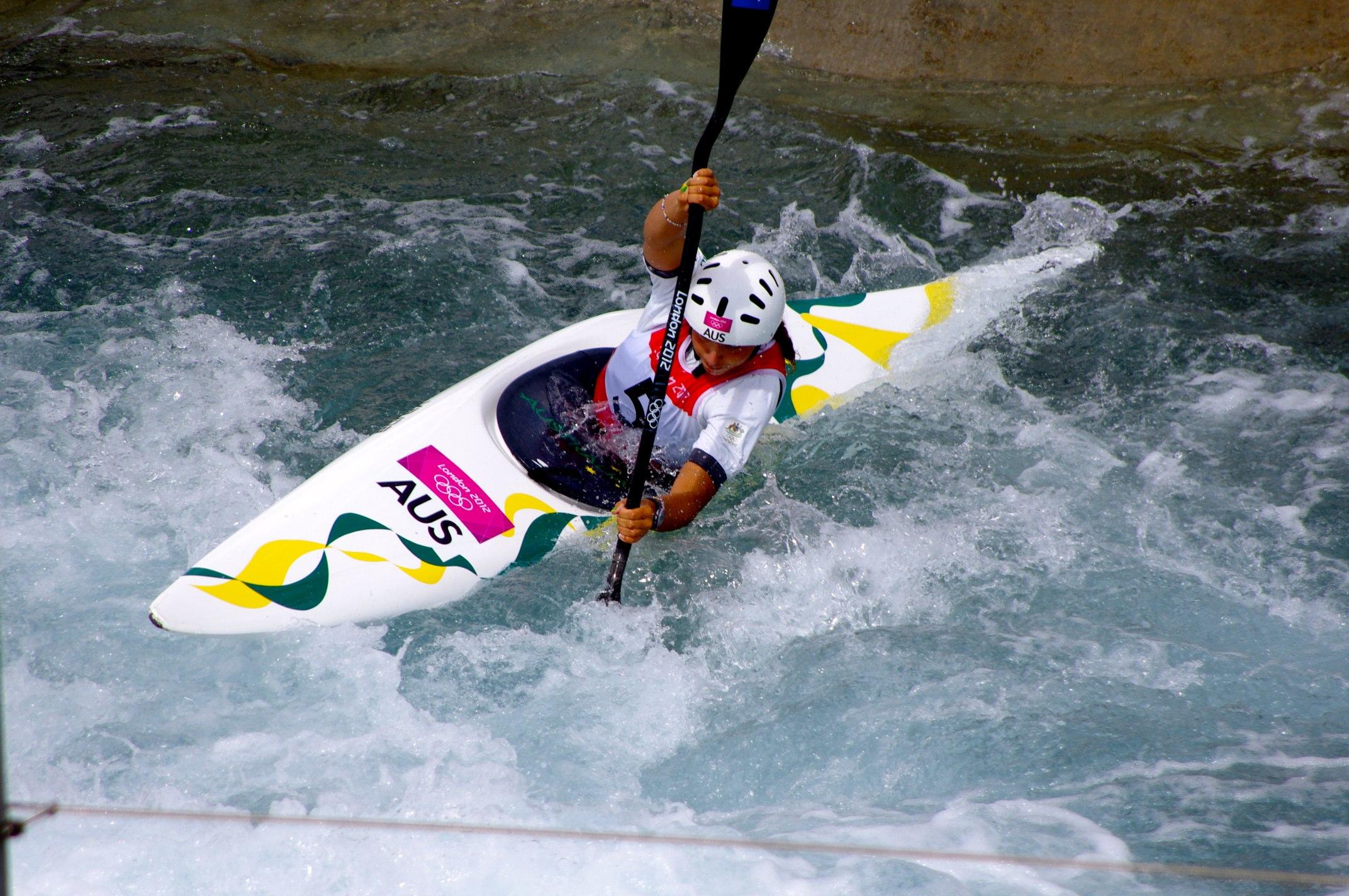 FileSlalom Canoeing 2012 Olympics W K1 AUS Jessica Fox