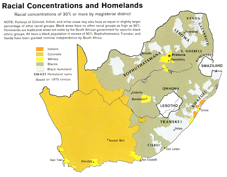 File:South Africa racial demographics map 1979.png ... on world map, structural map, nutrient map, florida state capital map, climate map, geologic map, topological map, urban rail and metro maps, person with map, dasymetric map, aeronautical chart, educational map, flow map, choropleth map, personality map, population north carolina county map, nautical chart, crime map, racial map, reversed map, economic map, pictorial maps, us house of representatives map, city map, topographic map, population density map, t and o map, competitive map, social map, historic map, anthropological map, dns map,