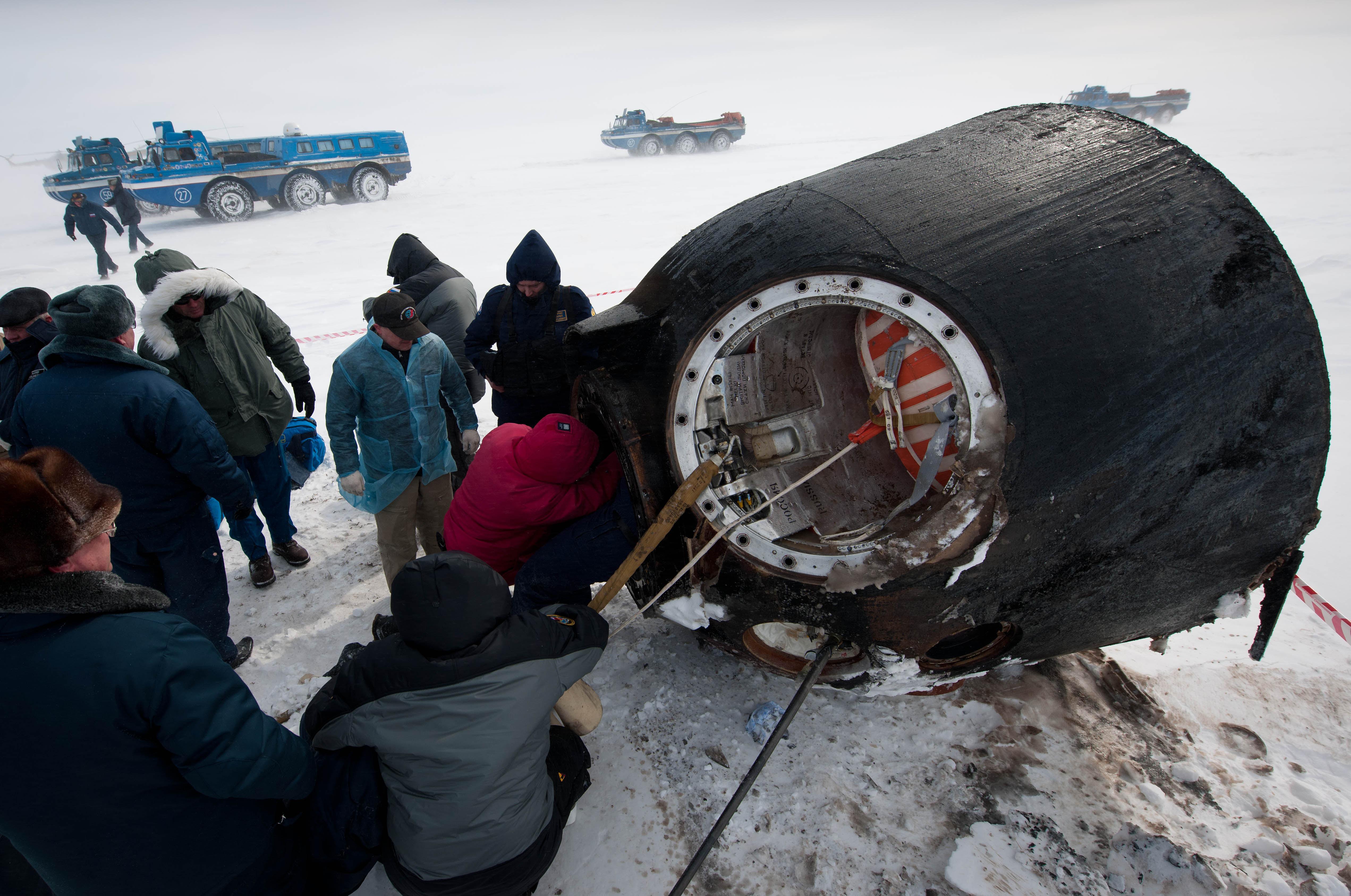 russian spacecraft landing - photo #2