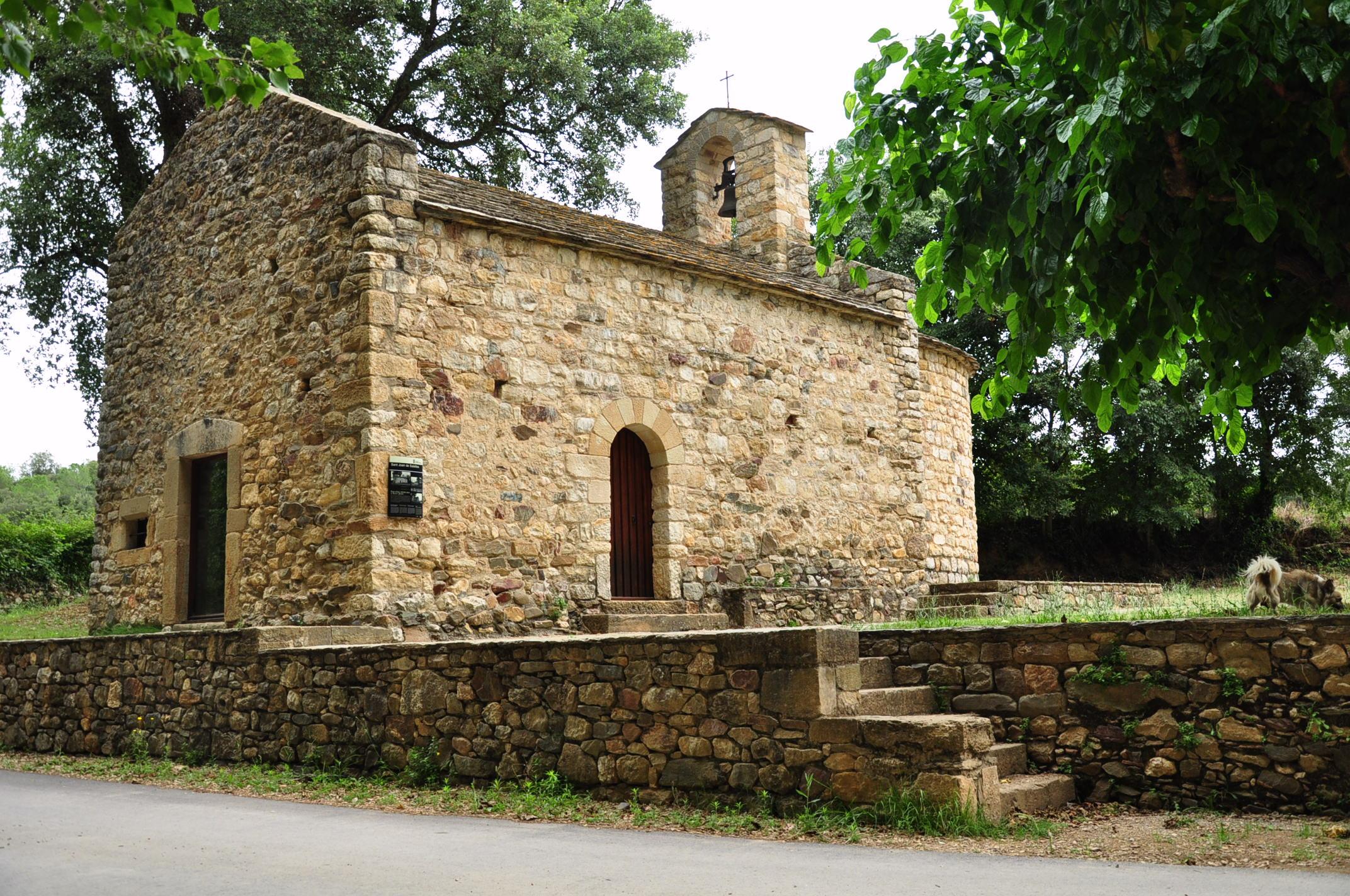 File Spain Catalonia Sant Sadurní De L Heura 8 Sant Joan De Salelles Jpg Wikimedia Commons