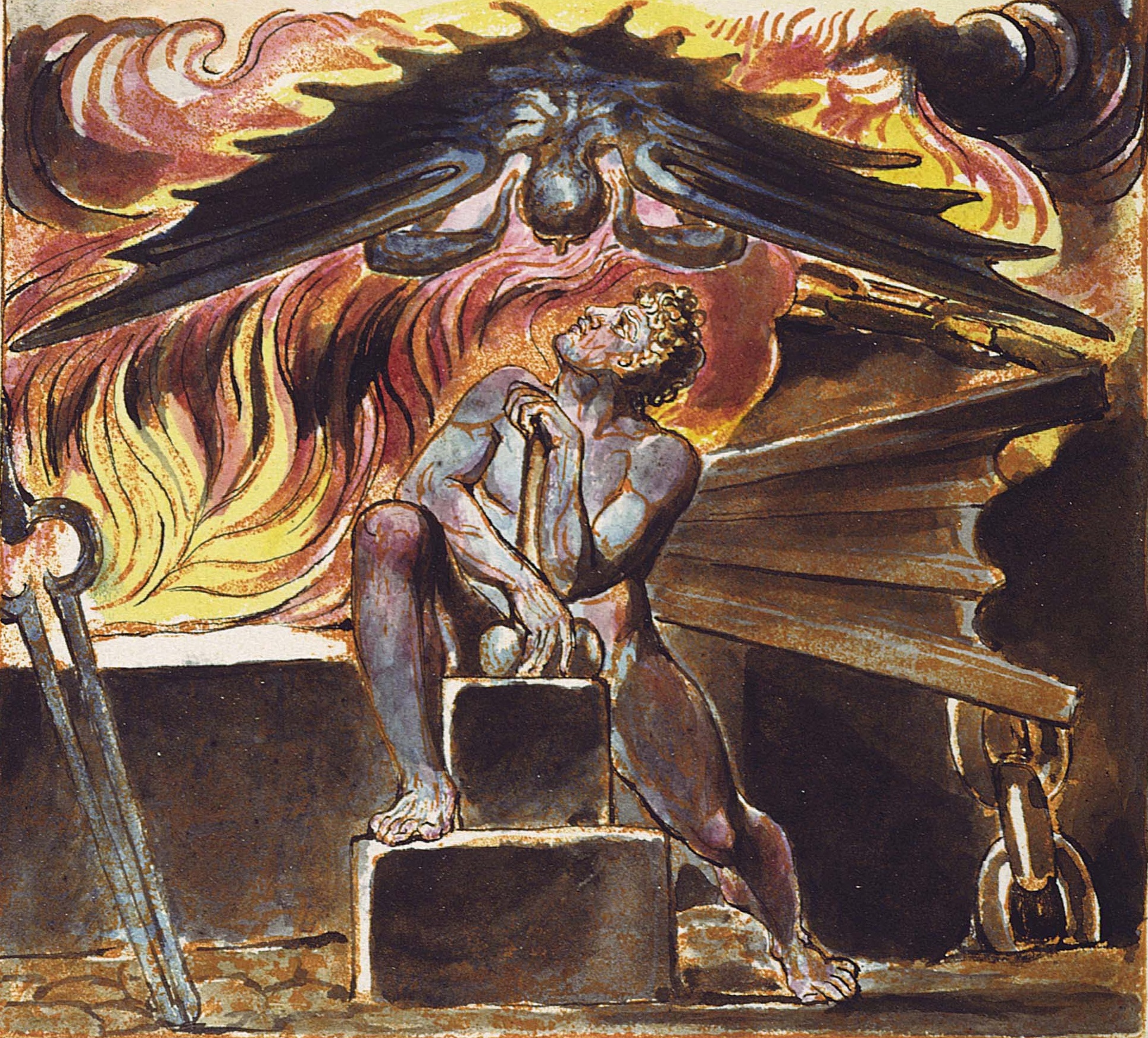 literary tools of expression of william blake Li, ruth, revelatory words and images: william blake and the artist's book ( 2013)  i would like to express my gratitude to the many people who have  helped me with  both literary and visual elements that coincide with, coalesce  into, and.