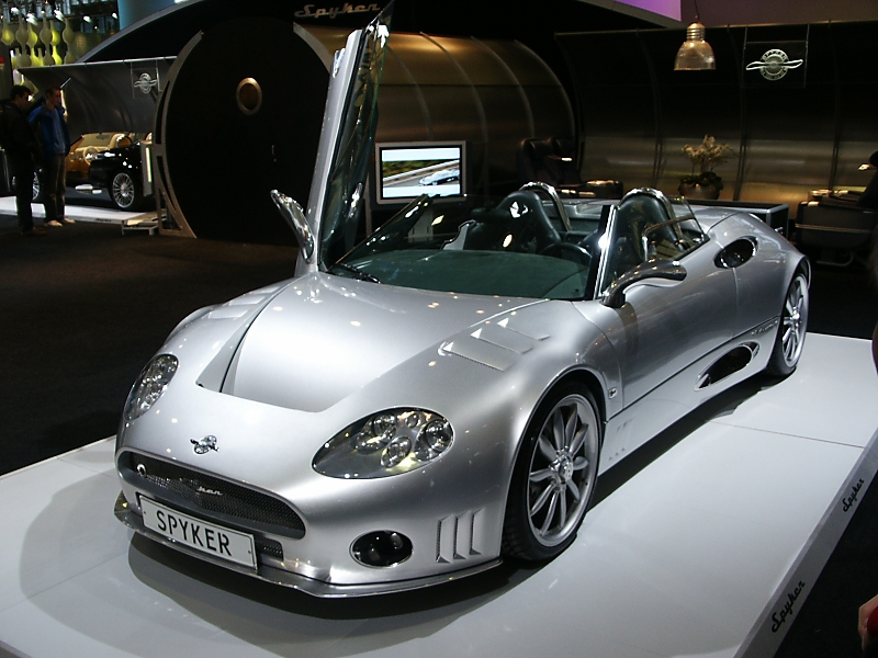 Cars Wallpaper Spyker Wallpaper