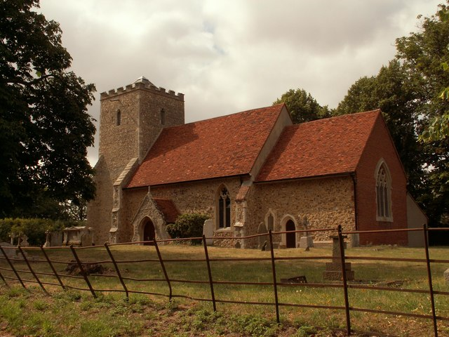 Plik:St. Lawrence's church, Asheldham, Essex - geograph.org.uk - 212882.jpg
