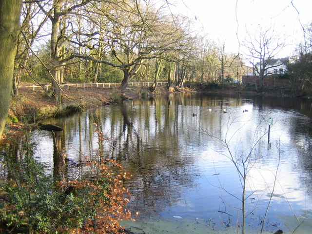 Stanmore, The Fish Pond, Little Common - geograph.org.uk - 131546