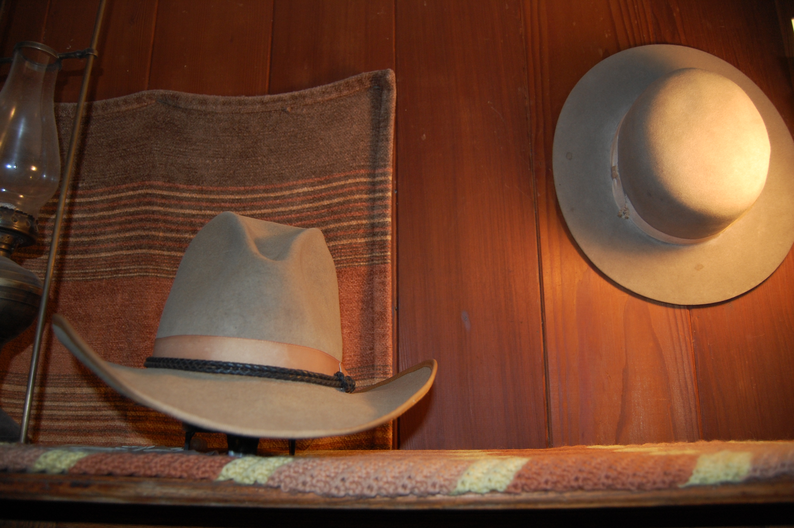 File Stetson cowboy hat 1950 silver belly 1880 boss of the plains ... a87b74f53793