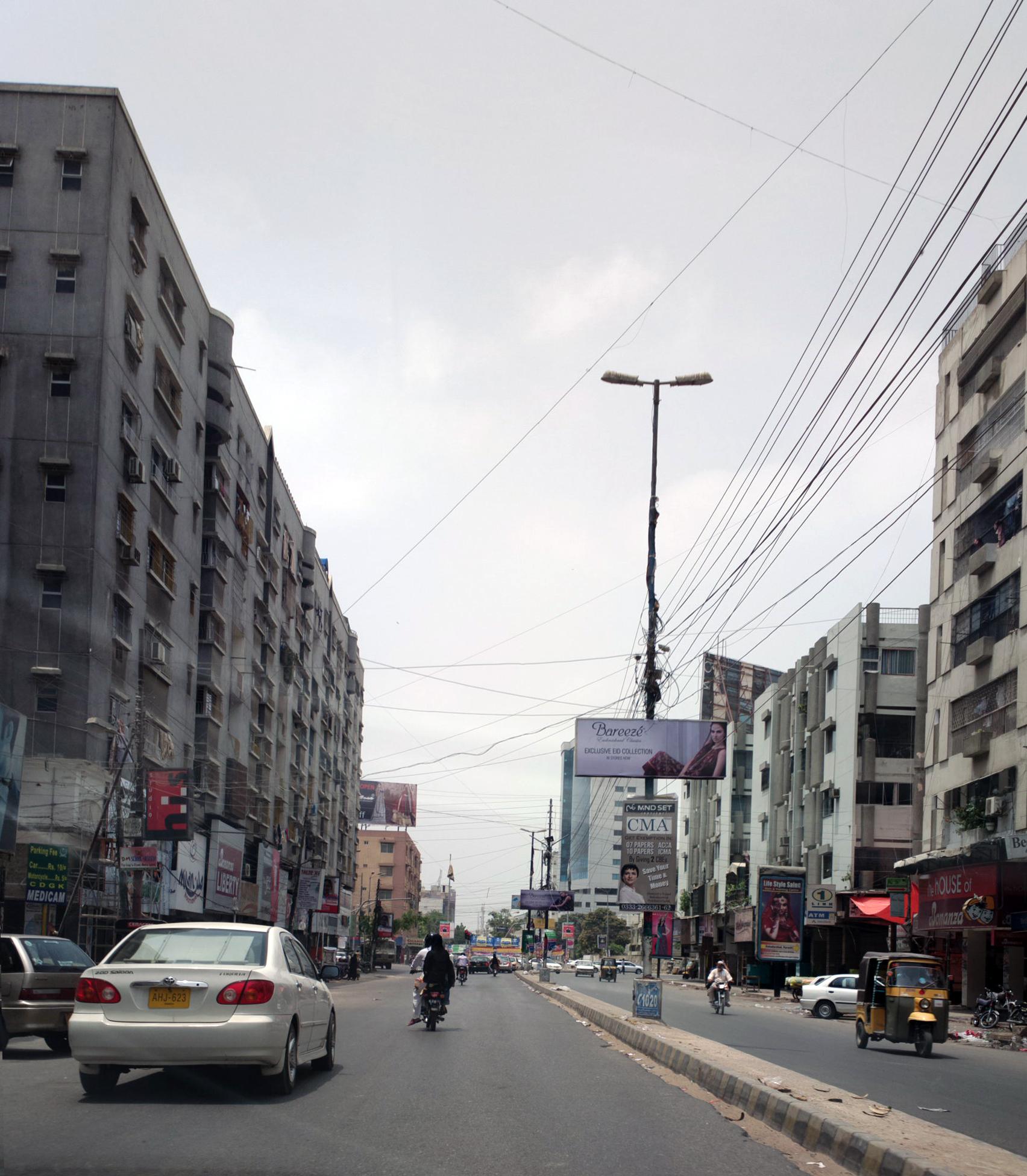 File Street In Karachi July 2012 Jpg Wikimedia Commons