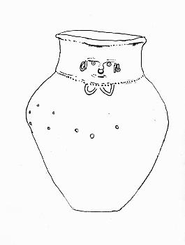 Tairona Burial Urn