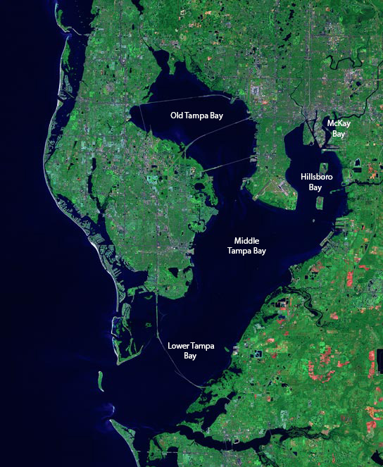 Map Of Tampa Bay Florida.Tampa Bay Wikipedia