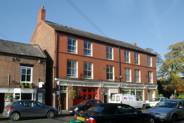 Tarporley Old Fire Station Chocolate Shop - geograph.org.uk - 607222