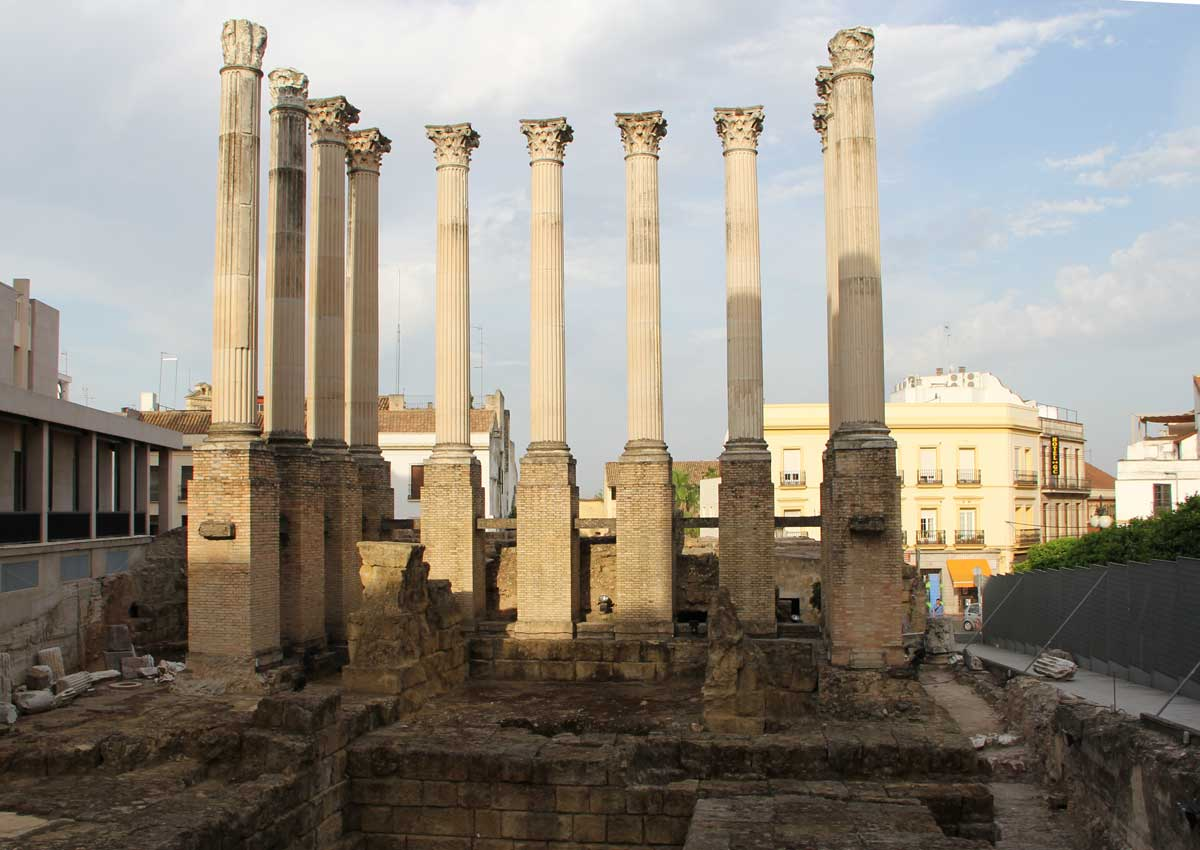 Temple Romain De Cordoue Wikipedia