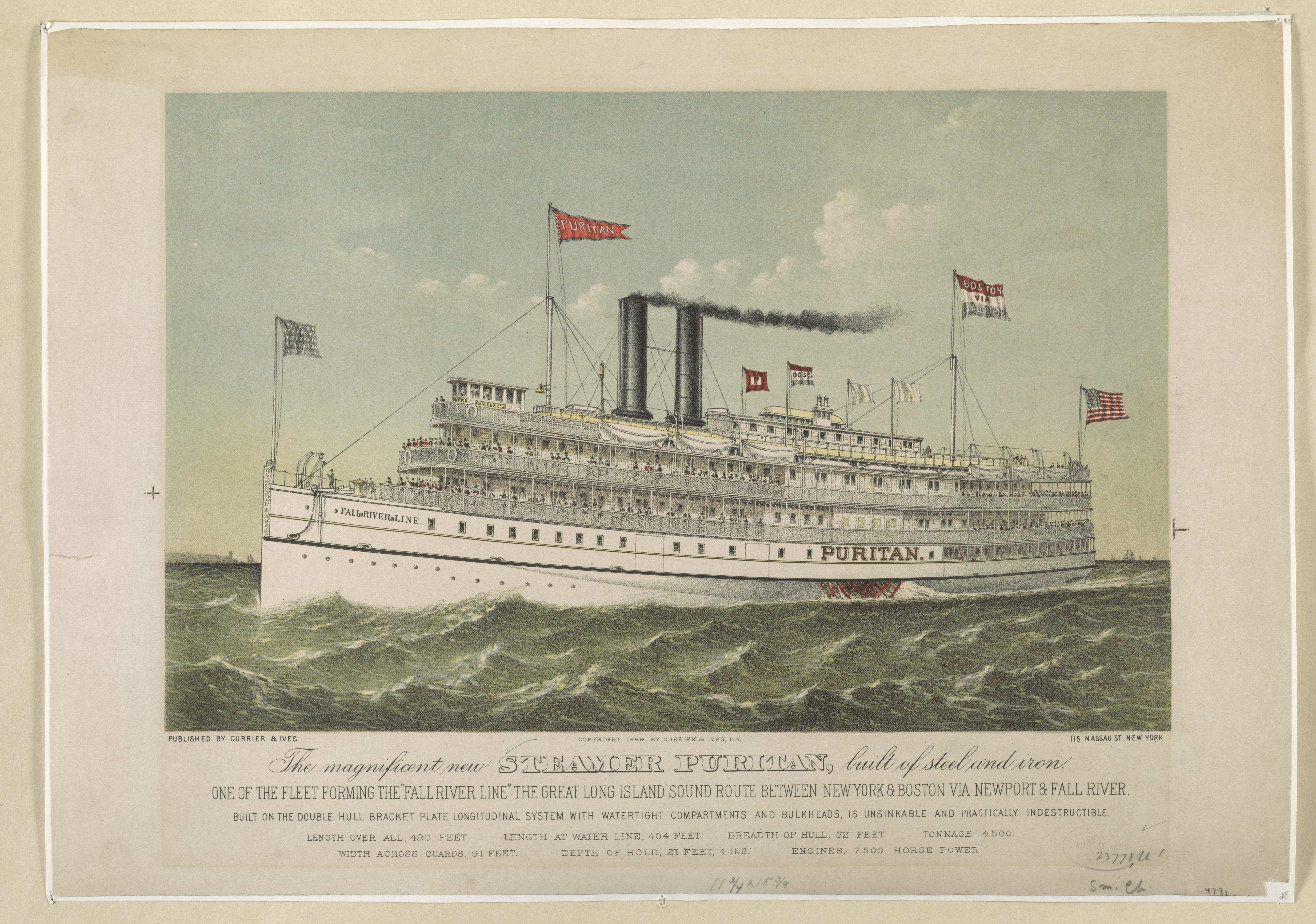 Fall River Line - Wikipedia