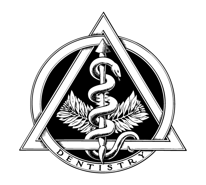 File:The official emblem of dentistry (bw)..jpg - Wikimedia Commons