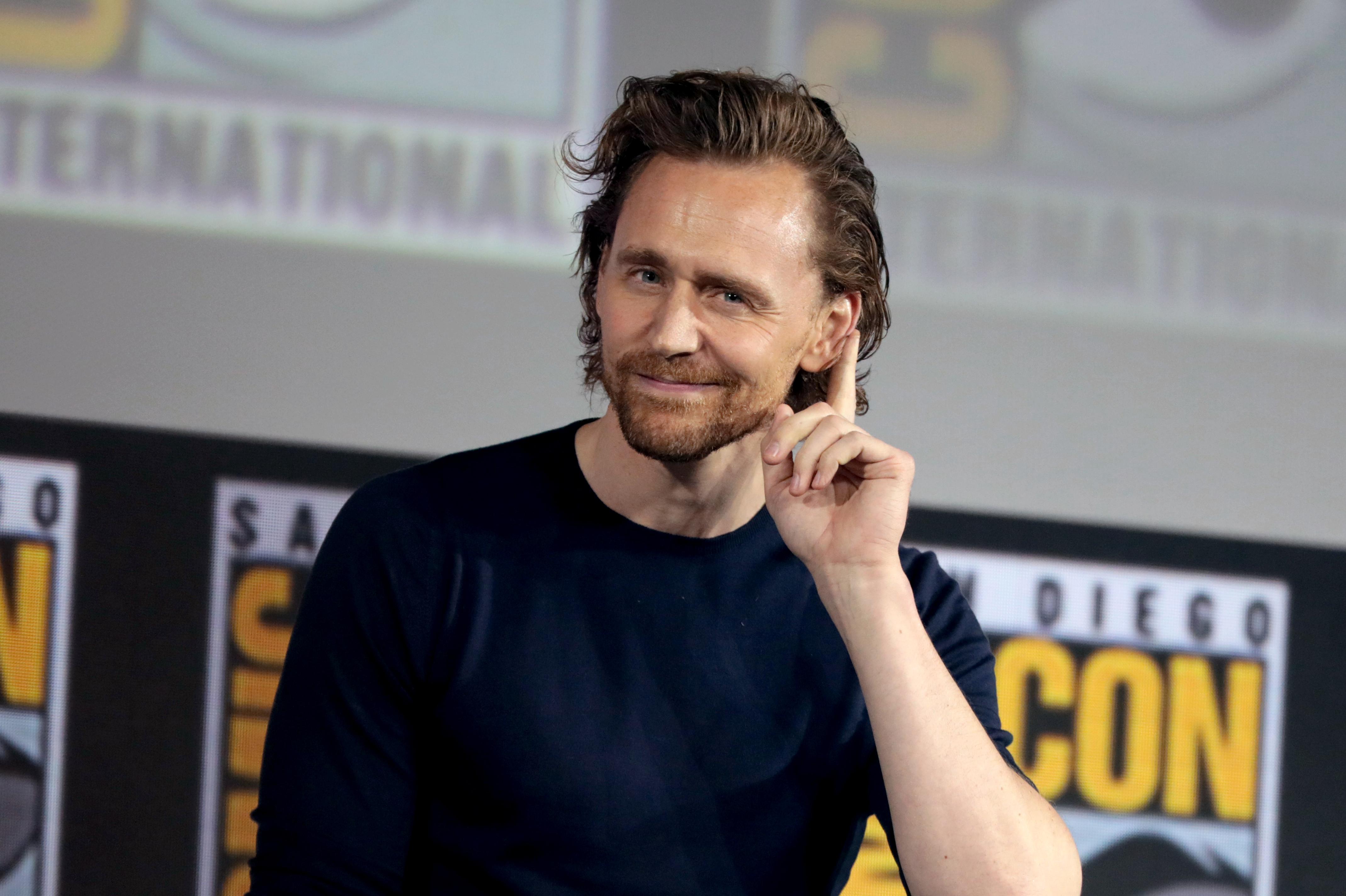 Resultado de imagem para Tom Hiddleston
