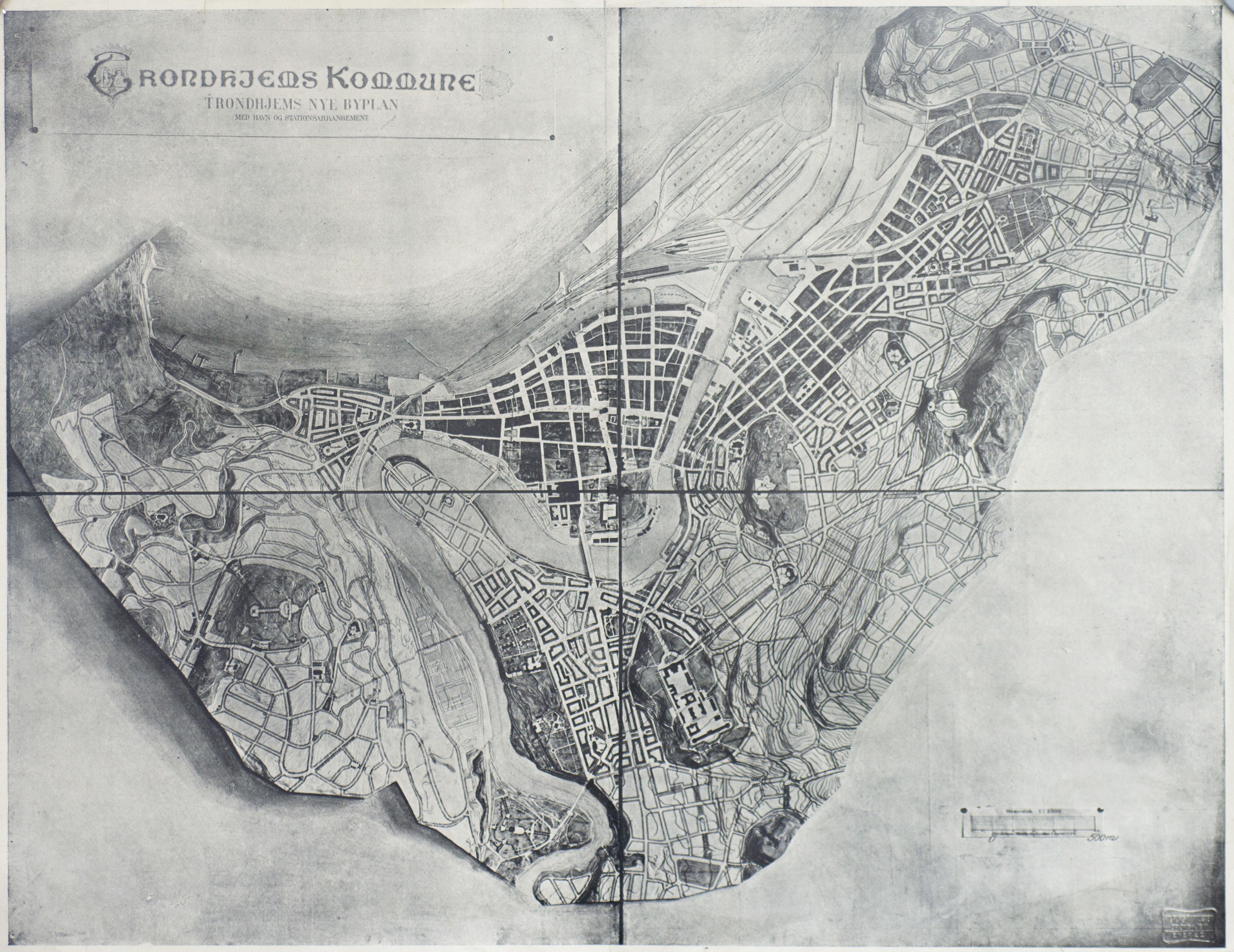 Urban plan Trondheim Norway