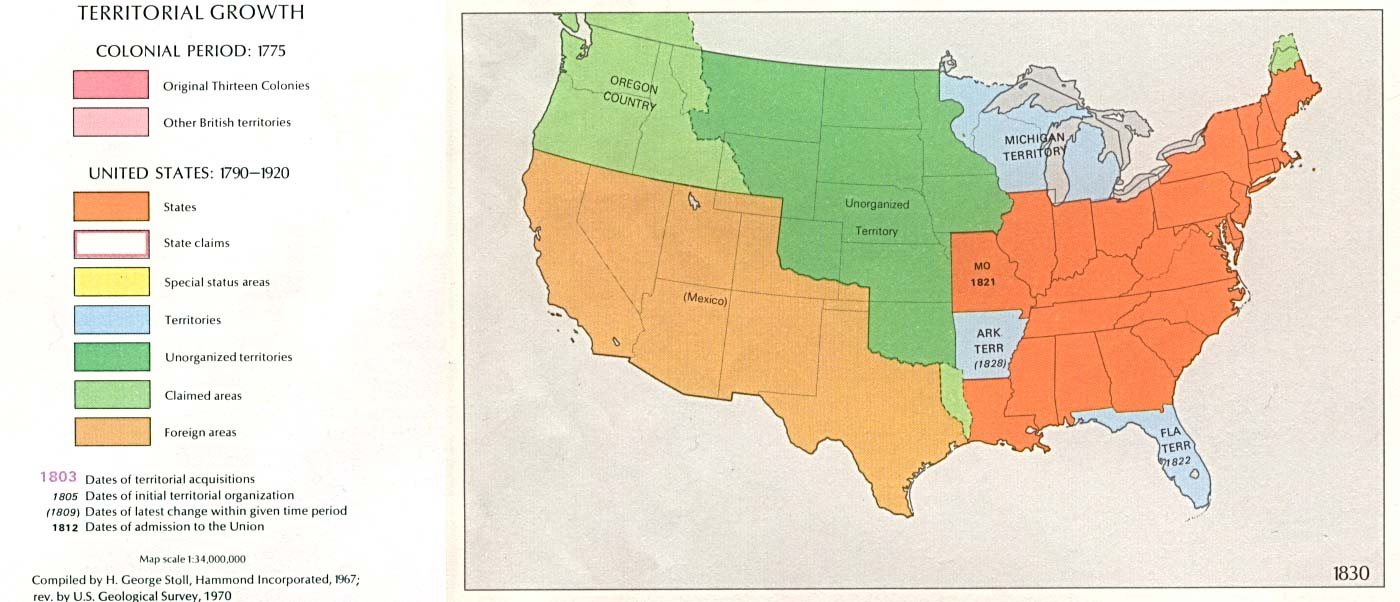 FileUSA Territorial Growth Jpg Wikimedia Commons - Map of us territories in 1830