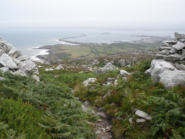 View, from Holyhead Mountain - geograph.org.uk - 1413527