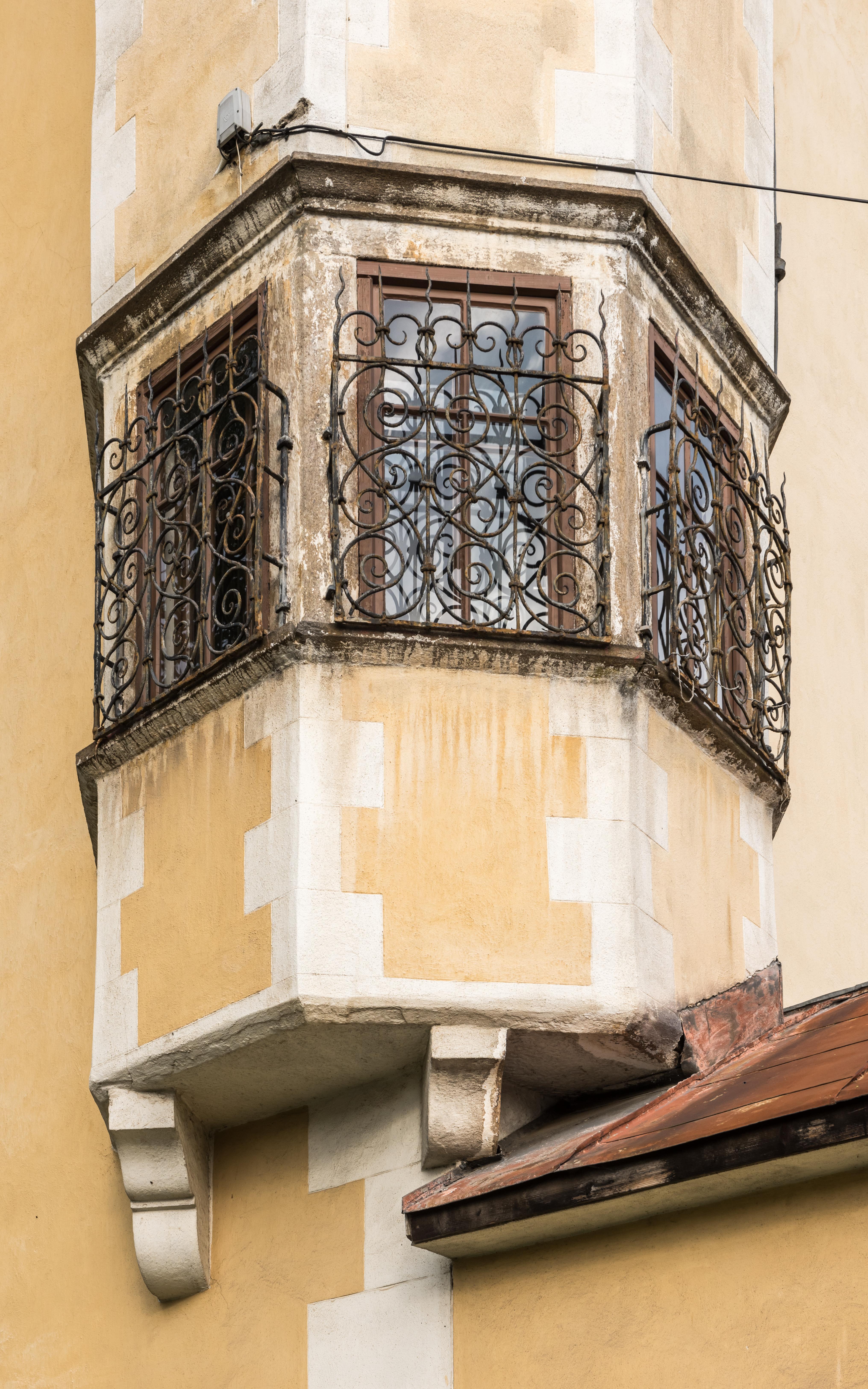 Wunderschön Erkerfenster Dekoration Von File:villach Voelkendorfer Strasse 86 Schloss Werthenau No-erkerfenster