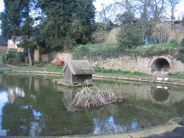Village Pond, Wroxton - geograph.org.uk - 553106