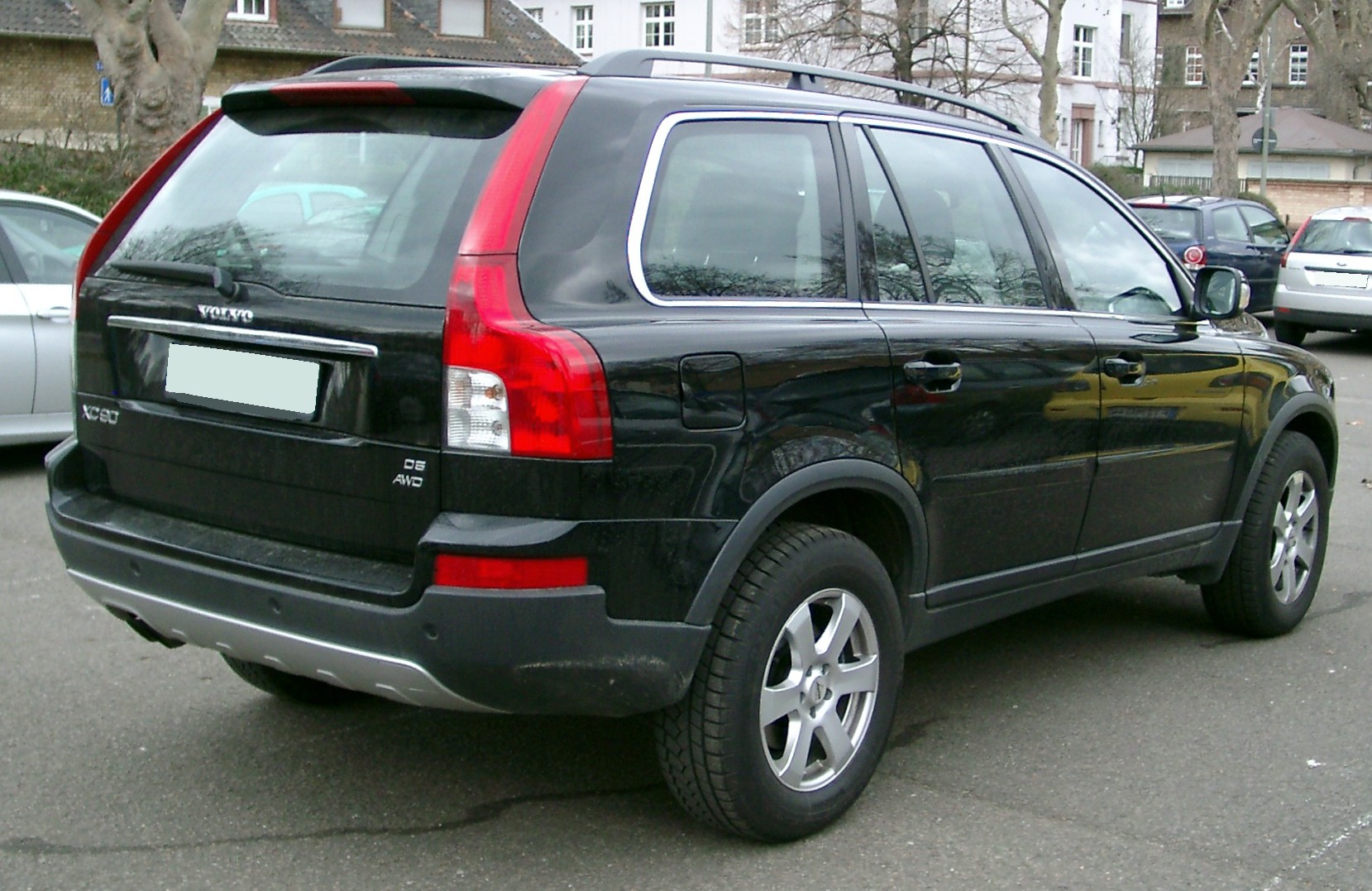 Volvo Xc90 Wikipedia File Rear 20080226 Jpg Wikimedia Commons