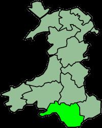 Glamorgan, una della contee del Galles