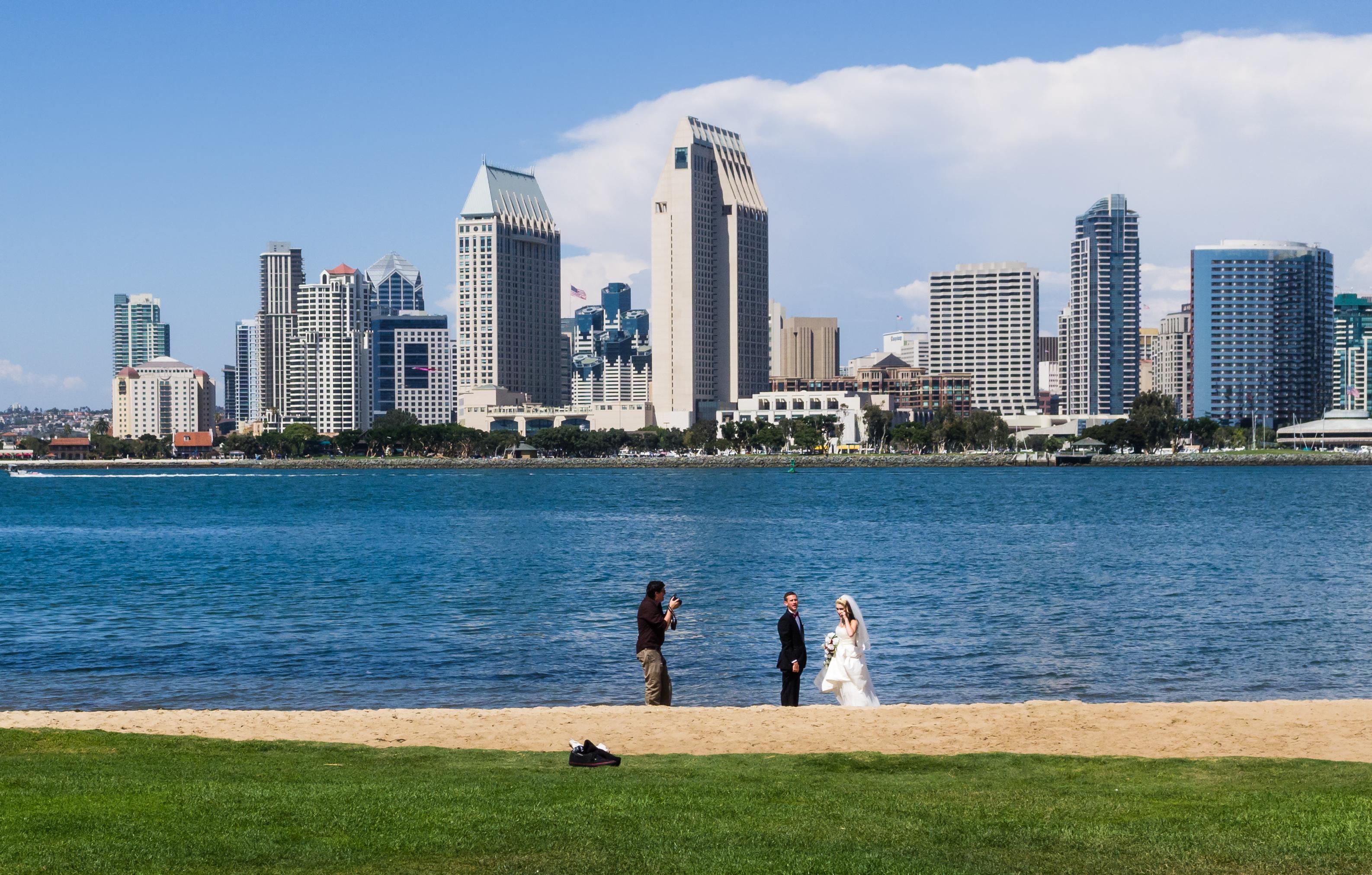 San Diego Wedding Beach Island