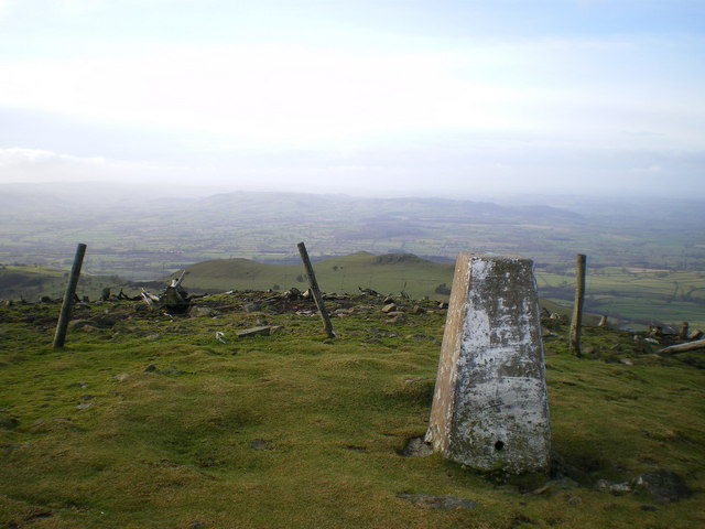 Westwards from Corndon towards Montgomery - geograph.org.uk - 1123741