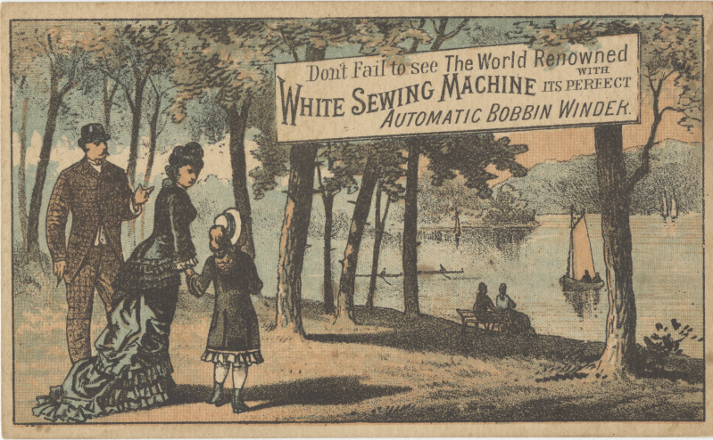 White Sewing Machine Wikipedia Inspiration White Sewing Machine Model 1265