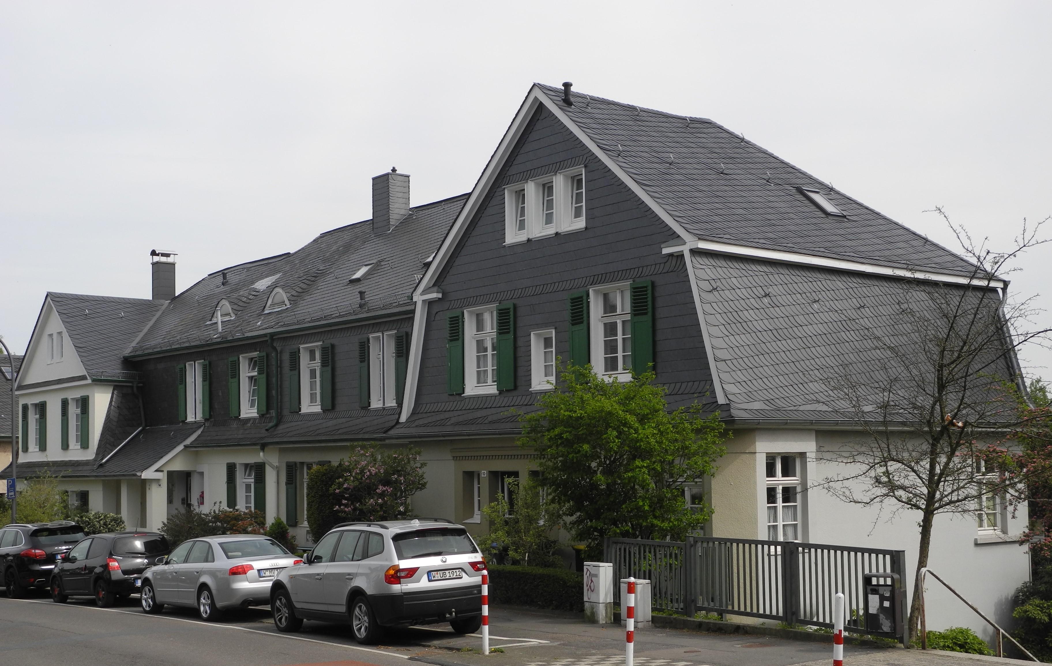 File:Wuppertal, Leipziger Str. 10 - 16, Schrägsicht von