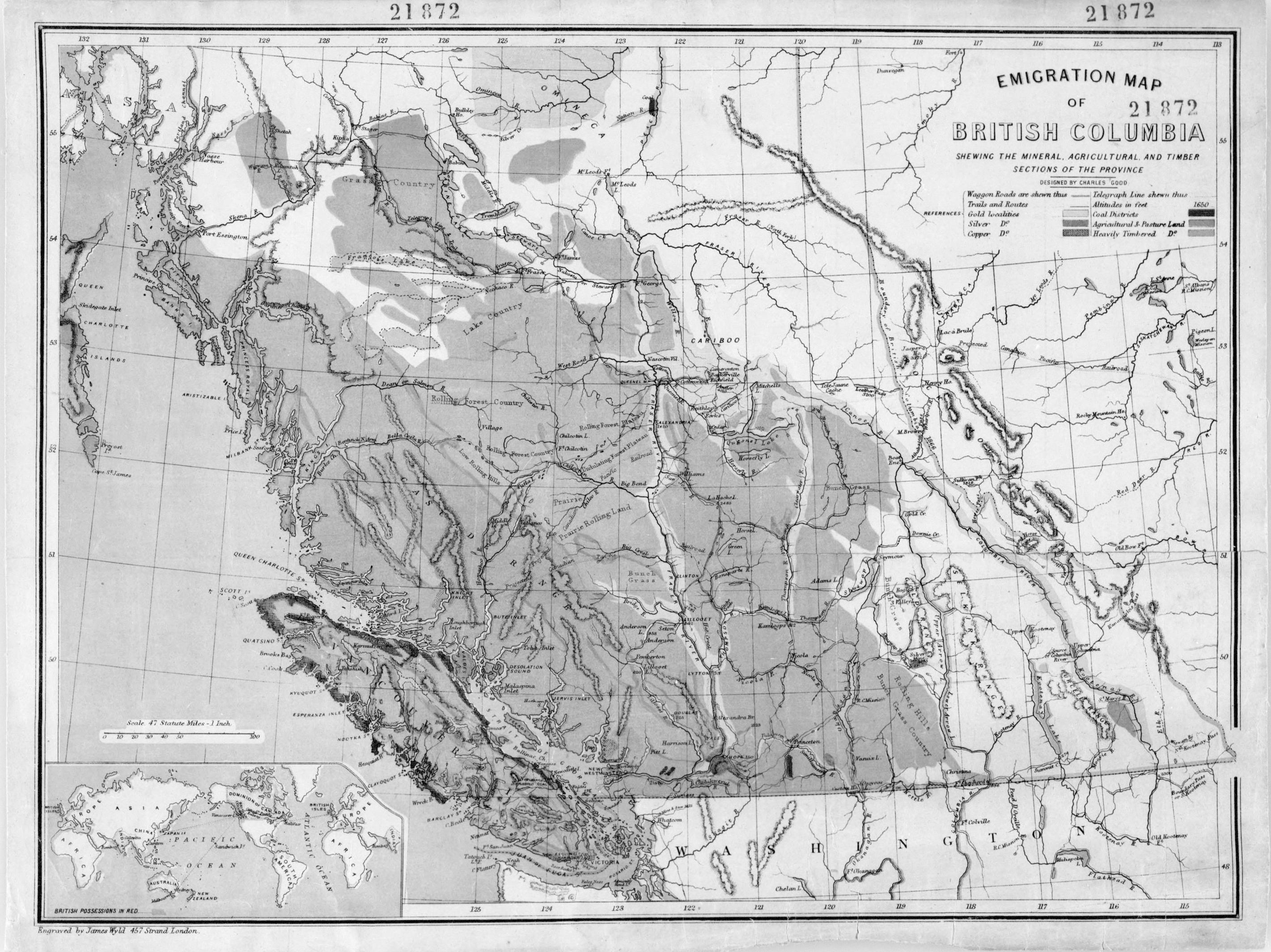 Map Of Canada In 1873.File 1873 British Columbia Jpg Wikimedia Commons