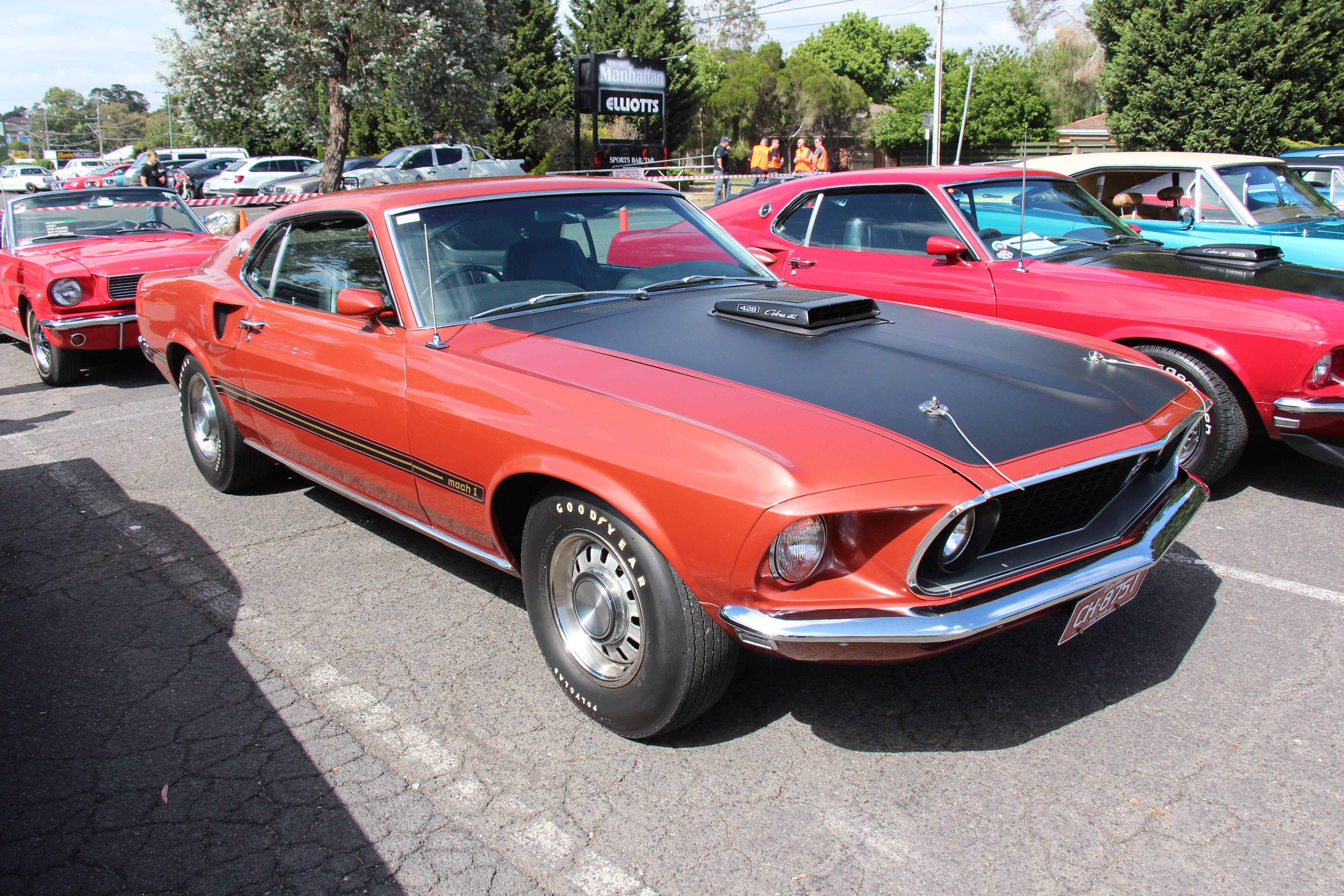 File 1969 Ford Mustang Mach 1 428CJ Wikimedia