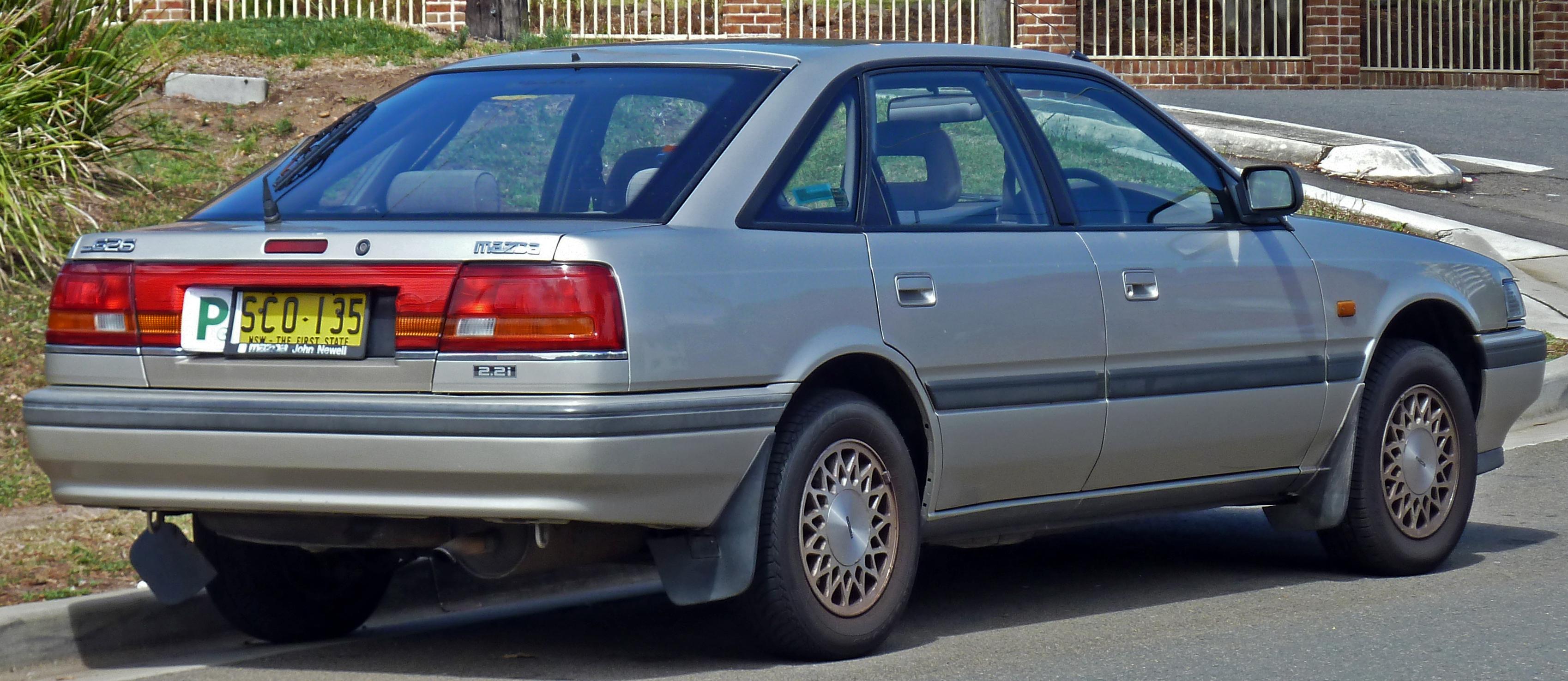 File 1991 Mazda 626 Gd Series 2 2 2i Hatchback 2011 01