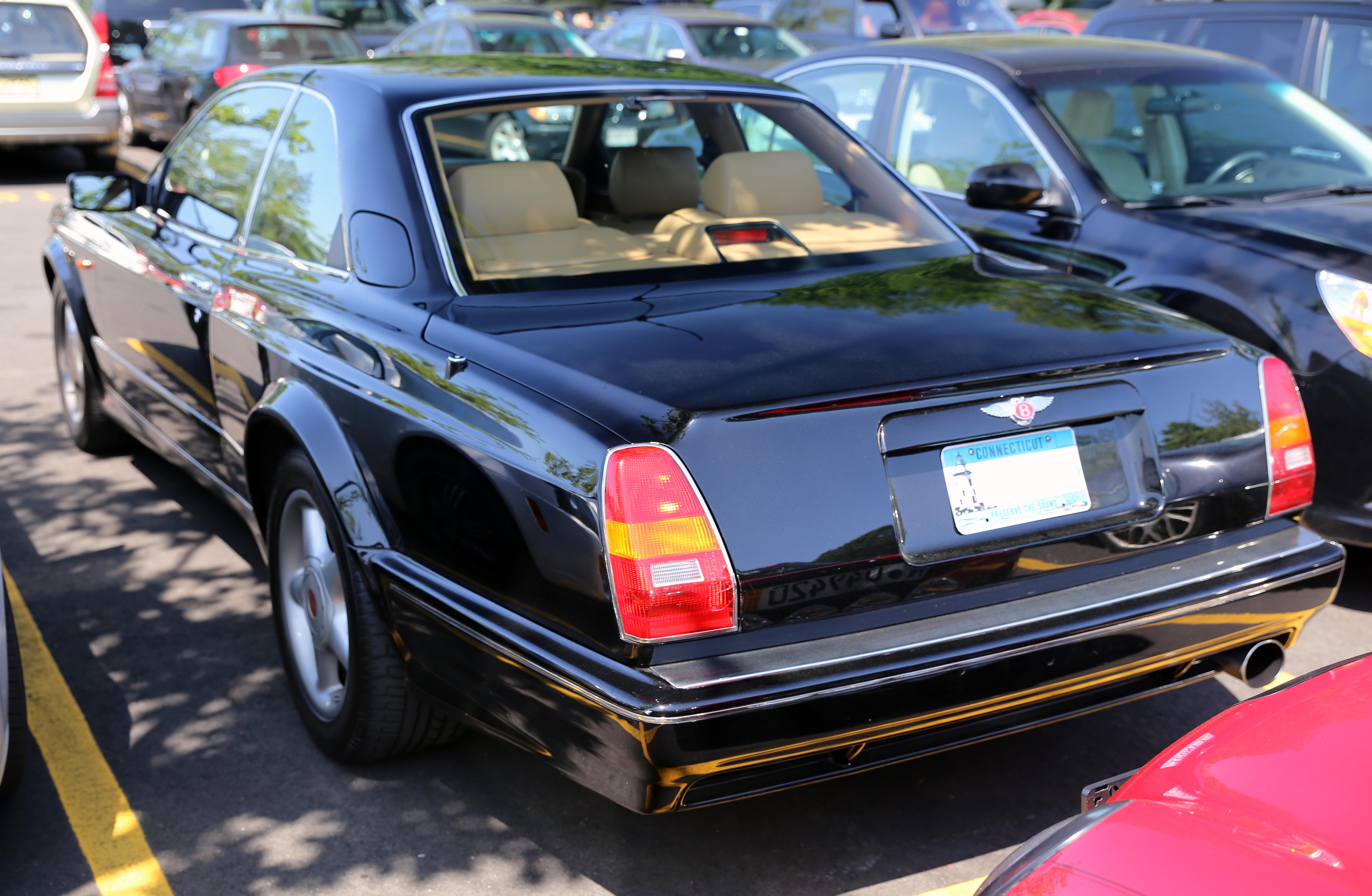 File 1997 bentley continental t rear view jpg
