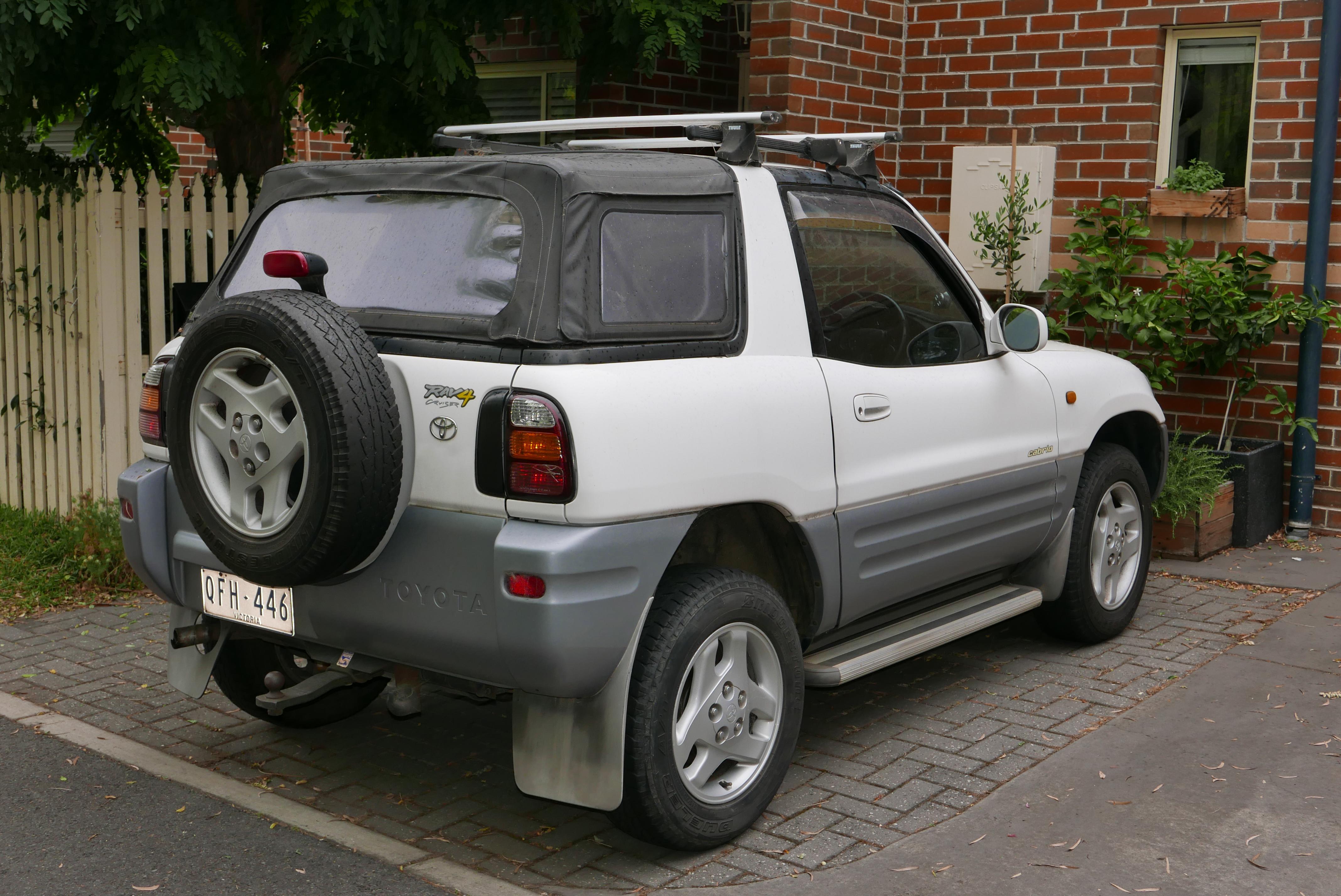1998 Rav4 Custom >> File 1998 Toyota Rav4 Sxa10r Cruiser Softtop 2015 12 07 Jpg